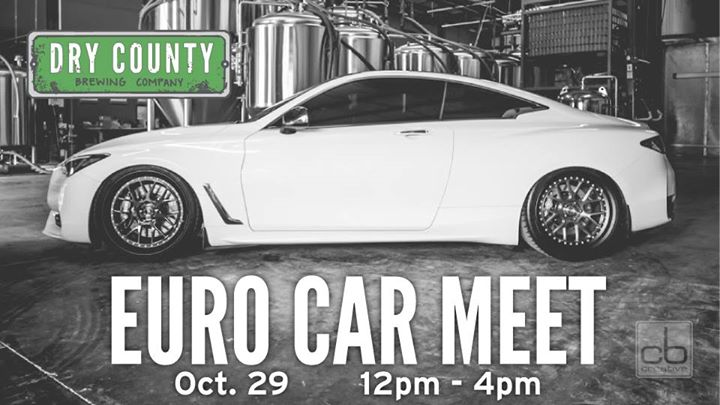 Euro Car Meet At Dry County Kennesaw