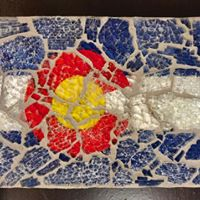 CO Flag Tempered Glass Mosaic PM class