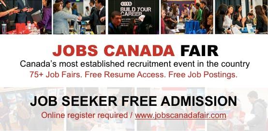 FREE: Kitchener Job Fair – October 17th, 2018 at HOTEL, Kitchener