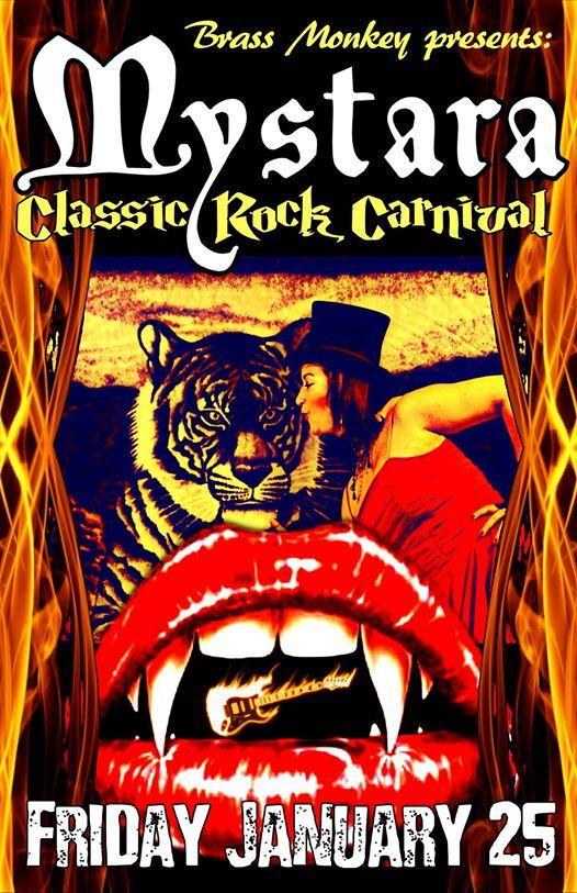 Mystaras Classic Rock Carnival at The Brass Monkey