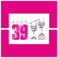 Avon 39 glass painting fundraiser in Newark