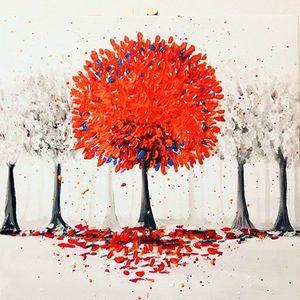ArtNight Roter Baum am 27042019 in Wien