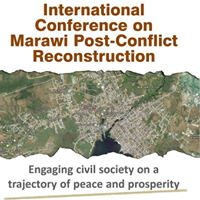 International Conference on Marawi Post-Conflice Reconstrruction