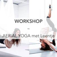 Workshop Aerial Yoga met Leentje - middag (VOL)