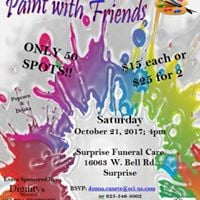 Step Out Fundraiser Paint with Friends