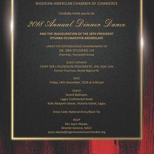 NACC 2018 Annual Dinner Dance