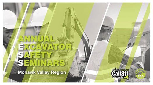 Mohawk Valley Region Excavator Safety Seminar 2019
