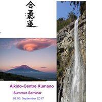 Aikido Seminar 02.03.09.2017 at Centre Kumano-BielBienne