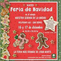 Feria De Navidad En El Colegio la Unidad