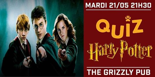 The Grizzly Quiz - Harry Potter