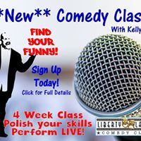 Comedy Classes with Kelly Doane