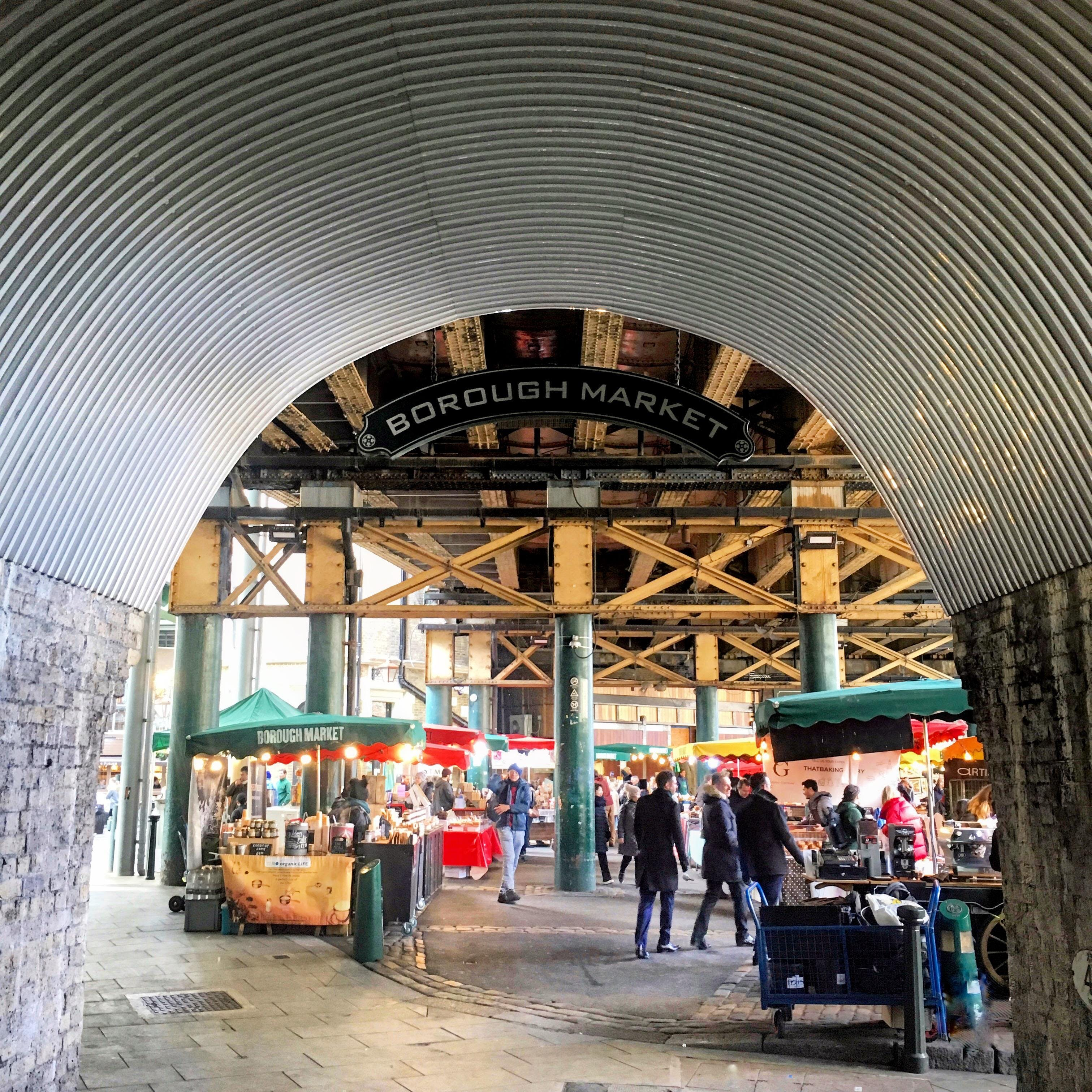 ARCHITECTURAL TOUR OF BOROUGH MARKET