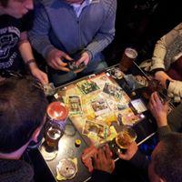 Soire jeux de socit  Fireside gathering