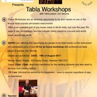 Tabla Workshops - Swindon