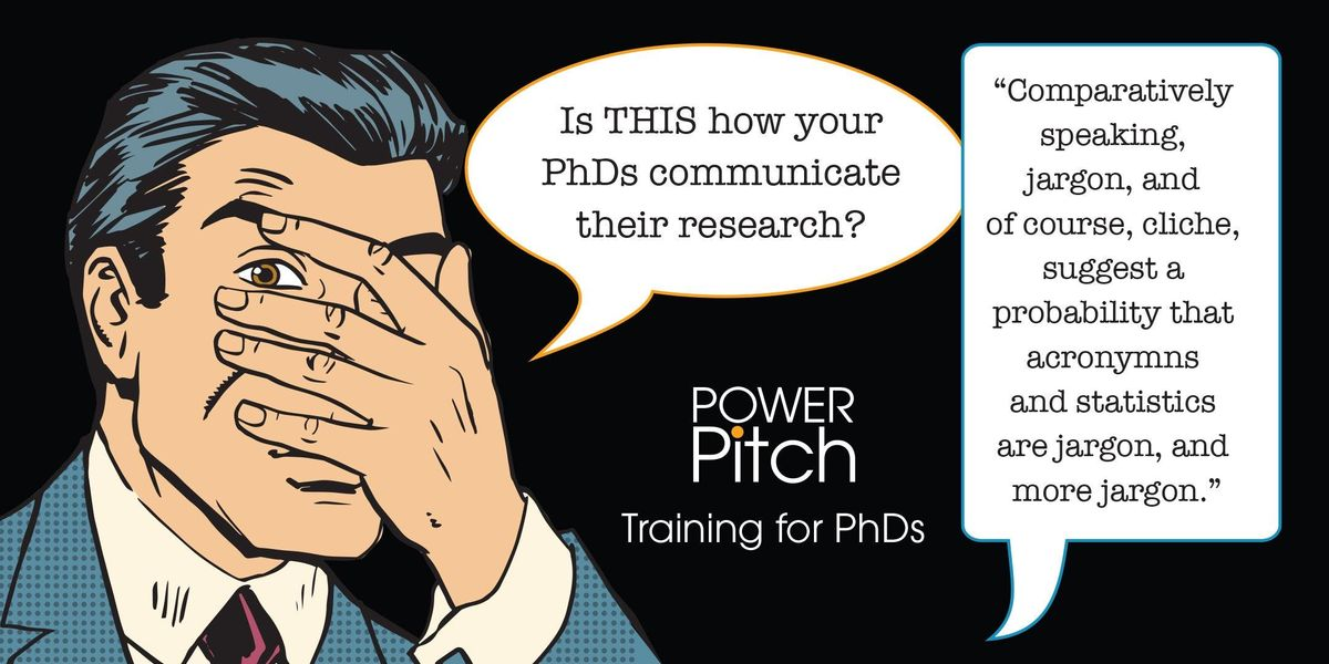 PhD PowerPitch Training ADELAIDE