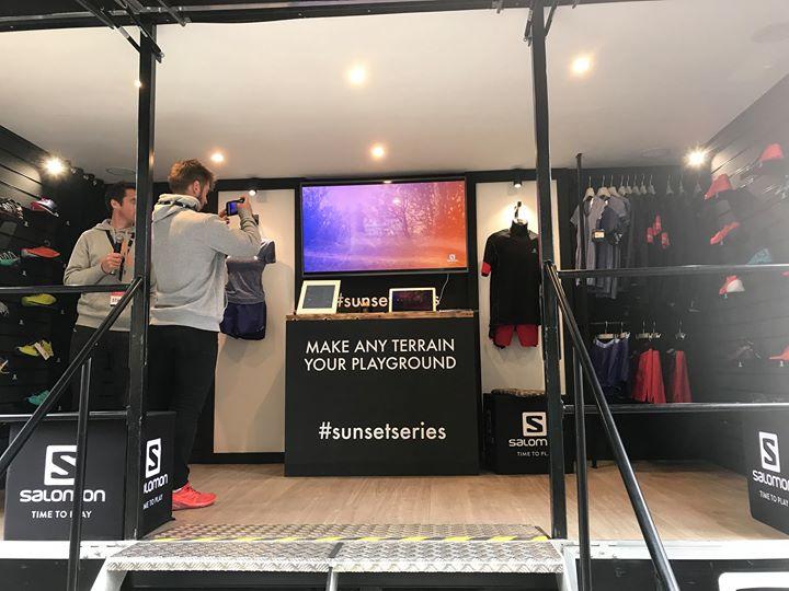 super popular 73074 ab2af Salomon Sunset Series Pop Up Shop - London at Southbank ...