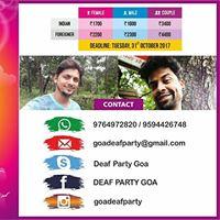 Deaf Party Goa 2017