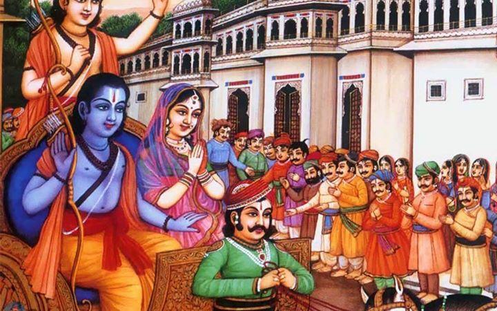 Ayodhya kanda - Pravachana at Sri Vyasaraja Matha, Bangalore