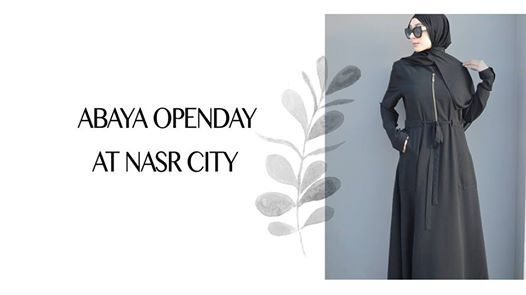 Abaya Openday at Nasr City - Hijab bloggers Bazaar