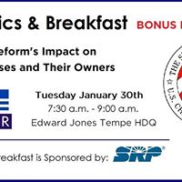 Hot Topics &amp Breakfast Tax Reform Impact on Businesses