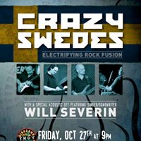 Crazy Swedes live at Dinosaur Bar-B-Que