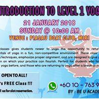 Intro to Level 1 Yoga