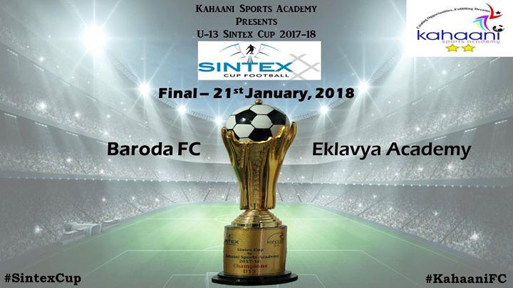 U13 Sintex Cup Final - Baroda FC vs Eklavya Academy