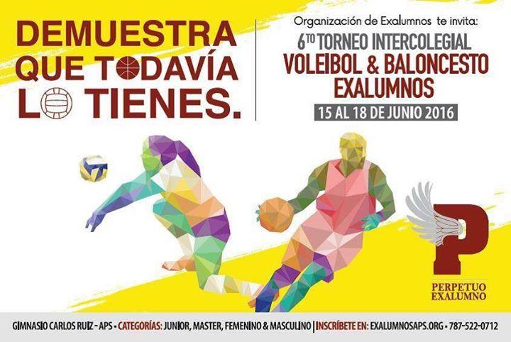 6to torneo voleibol baloncesto exalumnos at academia del for Rio grande arts and crafts festival 2016