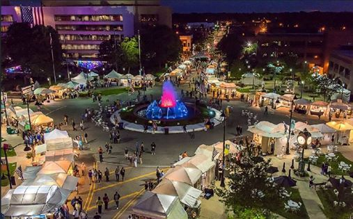 18th Annual Art on the Square