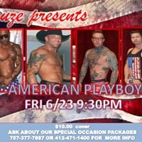 American playboys Male Revue