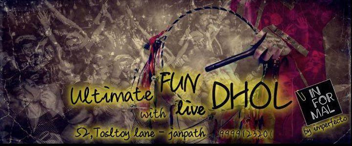 Live Dhol VS DJ and Feel the love of LOHRI at Informal