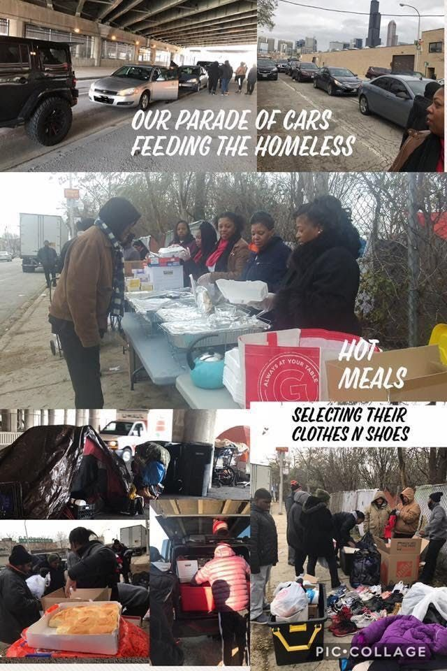 Meals with the Homeless