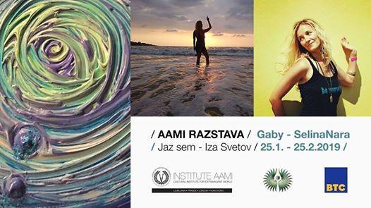 AAMI razstava - Gaby SelinaNara  I AM - Beyond Worlds