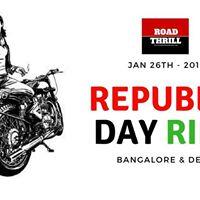 Republic Day Ride 2018  Bangalore &amp Delhi