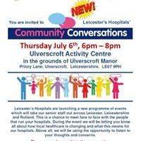 Leicesters Hospitals Community Conversations