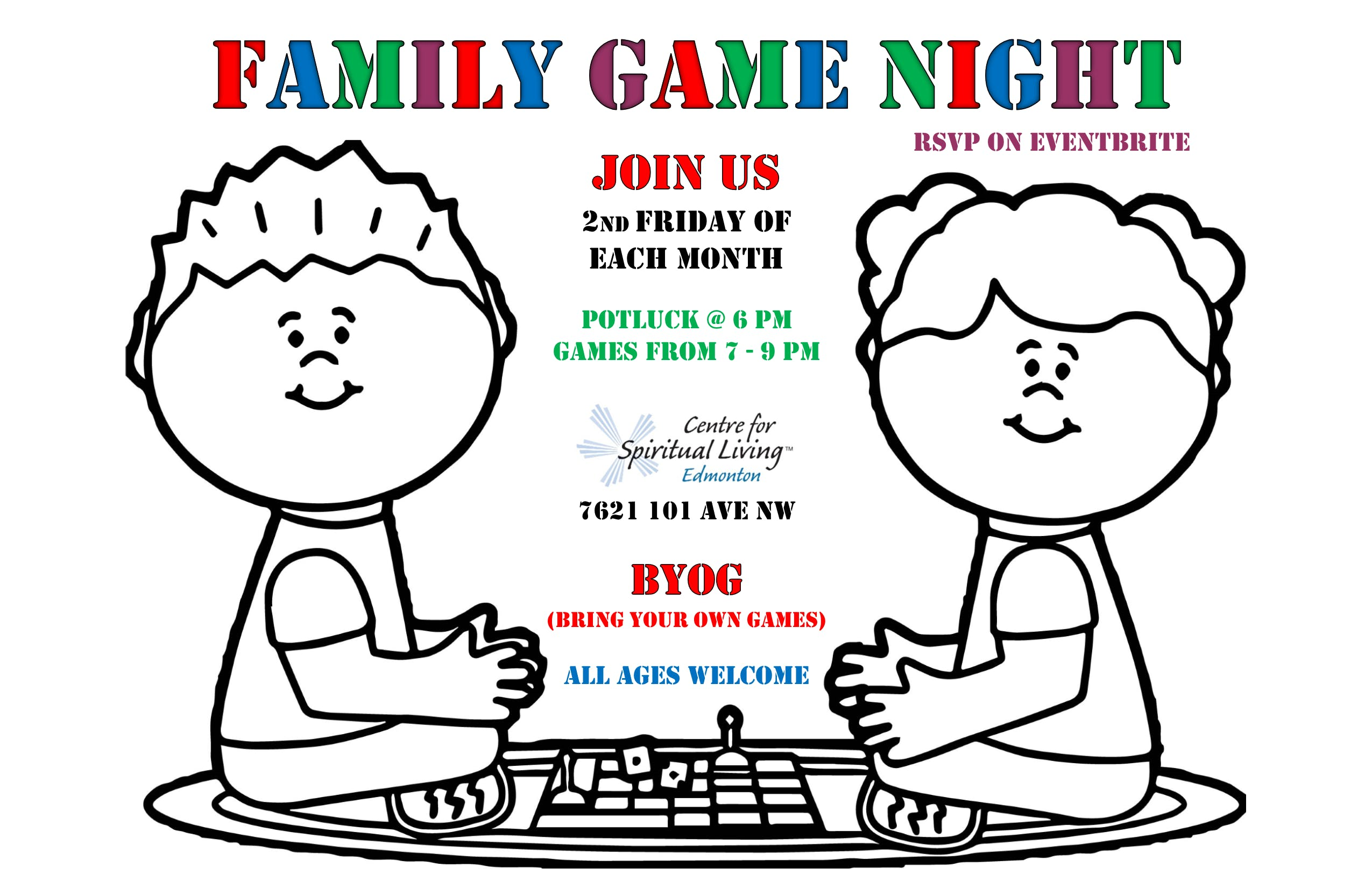 Family Game Night at The Centre