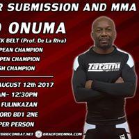 David Onuma Seminar - No Gi for Submission &amp MMA