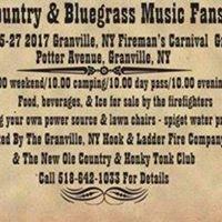 Granvilles 1st Country &amp Bluegrass festival
