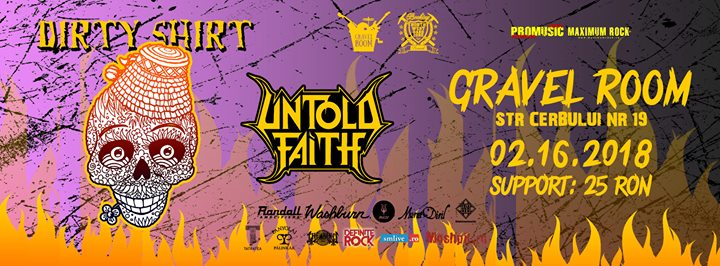 Concert Dirty Shirt & Untold Faith  Satu Mare