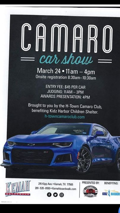 CRUISE TO THE KEMAH CAR SHOW At The Holiday Inn Hotel Suites - Car show beaumont tx