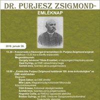 Dr. Purjesz Zsigmond-emlknap