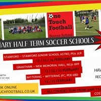 Grantham _ February Half Term Football Days