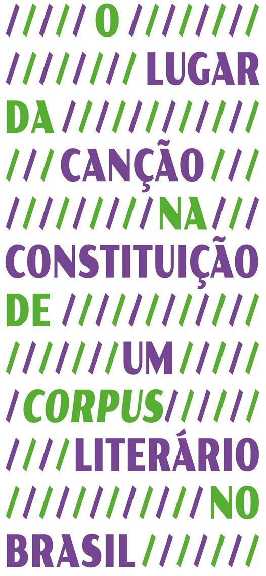 O lugar da cano na constituio de um corpus liter. no Brasil