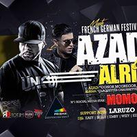 SA 411 Azad  Alrima Live On Stage