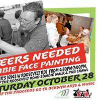 Volunteer Zombie Face Painters Needed