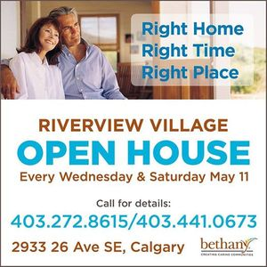 Open House at Riverview Village