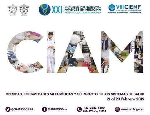 XXI Congreso Internacional Avances en Medicina CIAM 2019