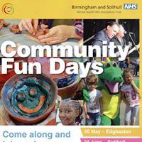 Mental Health - community fun day -