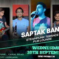 Steampunk Ludhiana featuring Saptak Band