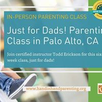 Just for Dads A Hand in Hand Parenting Class in Palo Alto
